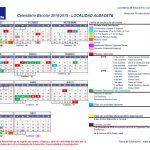 Calendario Escolar Albacete 2018/2019