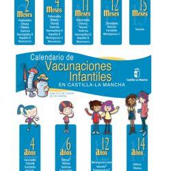 Novedades Vacunación Infantil en Castilla-La Mancha